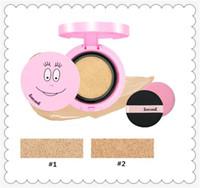 luftkissen bb creme großhandel-Fashion Air BB Creme Make-up-Tools beliebt 3CE Kissen 2 Farbe BB Creme mit Ersatz Concealer feuchtigkeitsspendende CZ0201101 BB CC Cremes
