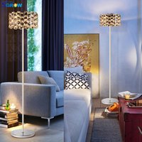 supports à cristaux liquides achat en gros de-ÉTOILES K9 Cristal Lumière Du Sol Lampe Debout Luminaires Intérieur Art Décoration Lampara pour Chambre Salon Salle À Manger