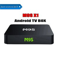 Wholesale android game hdmi resale online - M9S X1 Android TV BOX Smart Mini PC Amlogic S905X Quad Core H Media Player GHz Wifi HDMI A Game P Home Theater