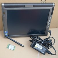 Wholesale laptop sata mini for sale - Group buy High Quality LE1700 tablet Diagnosis Laptop with mini sata SSD win7 system for BMW ICOM auto scanner