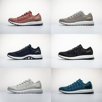 Wholesale brand sports shoes china - with Box 2018 Mens and Womens Running Shoes Sneakers for Men Brand Designer Sports Shoes Clima China Six Colors Size US5-11