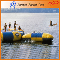 Wholesale inflatable game sales resale online - hot sale water blob jump inflatable water game toy inflatable water blobs for sale
