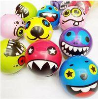 Wholesale finger ball toys resale online - Emoticons Sponge Toys Extrusion Stress Wrist Fingers Training Ball Soft Sponge PU Elastic Ball Adult Child Toys
