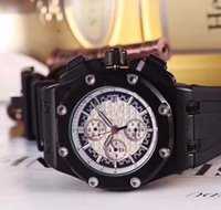 Wholesale black bone china - china man black case quartz Bone wristwatch orologio sport High quality luxury fashion men watch brand new Stainless steel mens watches