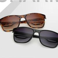 Wholesale eyeglasses nose pads - High Quality Square Sunglasses Men Brand Designer Retro Eyeglasses Plastic Frame Comfortable Nose Pad Women Sun Glasses New Arrival 8xf Y