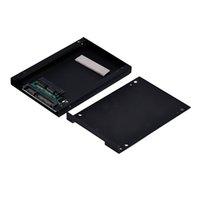 ssd sata 1,8 toptan satış-Yüksek Kaliteli Mikro SATA 1.8 Inç 2.5 Inç HDD Sabit Disk SSD Dönüştürücü Muhafaza Adaptörü Yeni moda Toptan