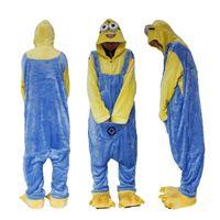 onesies para homens venda por atacado-Mulheres e Mens Onesies Kigurumi Onesie Trajes Cosplay Pijama Party Wear