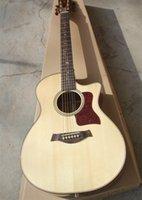 neue akustische akustikgitarren großhandel-2018 New + Factory + KOA K20ce akustische Gitarre Chaylor K20 elektrische akustische Gitarre Kostenloser Versand K20 KOA Körper akustische Gitarre