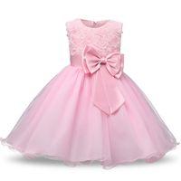 ingrosso vestito di sequin delle neonate-1-5 anni Compleanno Toddler Girl Battesimo Dress Costumi di Natale Sequin Baby Princess Vestido Regalo per bambini Abiti da battesimo