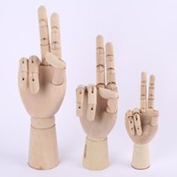 Wholesale human model art for sale - Group buy Practical Wood Hand Model With Anti Skid Bottom Hand Drawing Sketch Mannequin Models Movable Limbs Human Artist Mould Flexible pw3 BB