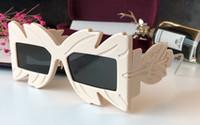máscara de óculos venda por atacado-0429 Sunglasses Black Acetate Frame Máscara Quadrada Popular 0429S Design Quadro Popular Proteção UV Óculos De Sol de Alta Qualidade Moda Estilo Verão