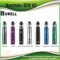 Wholesale colouring pens - Authentic Uwell Nunchaku Starter Kits 80w TC Nunchaku Mod and 5ml Tank Atomizer Vape Pen Kit 100% Genuine