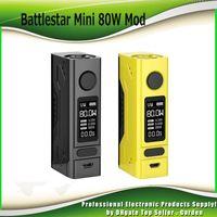 Wholesale mini oled - Original Smoant Battlestar Mini 80W Box Mod TC Vape Mod with 0.96inch Big OLED Display Ecig Mods 100% Authentic