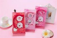 розовый mp4 оптовых-Высокое качество розовый проводной 3,5 мм разъем наушники для MP3 MP4 для iphone Samsung Xiaomi гарнитуры девушки