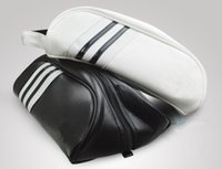 обувь для гольфа бесплатная доставка оптовых-пользовательские логотип мода Марка гольф обувь сумка искусственная кожа белый черный гольф продукты на открытом воздухе спортивная обувь сумка бесплатная доставка высокое качество мужчины женщины