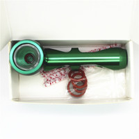 Wholesale metal tobacco pipes for sale for sale - Group buy 2017 New Mini Portable Unbreakable metal Smoking Pipe With pipes for sale wax dry herb Hookah Accessory Tobacco Pipe