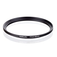 filter adapter rings 2018 - original RISE(UK) 77mm-82mm 77-82mm 77 to 82 Step Up Ring Filter Adapter black