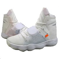 Wholesale high top hiking shoes - Hyper 2017 Hot Dunk High React White FK Basketball Shoes Top Fashion Designer Training Sneakers Real Quality Lace Up Size 36-45