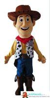 parti kovboy kostümü toptan satış-Kovboy Woody maskot kostüm Karikatür maskot karakter kostümleri doğum günü partisi için deguisement mascotte özel maskotlar arismascots