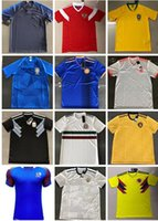 Wholesale Fr S - Best quality 2018 World Cup national team Iceland Colombia Russia Brazil Belgium Argentina Spain Uruguay Fr ance Mexico Camiseta de fútbol