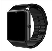 ingrosso orologio del telefono bluetooth-Smart Watch GT08 Orologio con Sim Card TF Slot Push Message Connettività Bluetooth Android Phone Smartwatch GT08 Drop Shipping