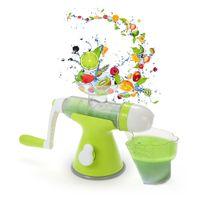 Wholesale juicing machines - Portable Blender Manual Juicer Multifunctional Juicing Machine Hand Crank Juicer Practical Hand Juicer Ice-cream Maker