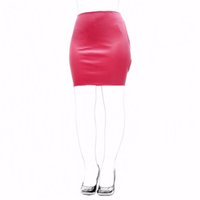 Wholesale leather sex fashions for sale - Group buy 2018 New Fashion Fetish Slave Spanking Skirt Faux Leather Open Hip Bondage Sexy Lace Up Erotic Dress S M Adult Game Sex Toy Products