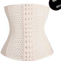 ingrosso più i cinchers del tummy di formato-Body Shaper Trainer per la vita Tummy Shapers Cintura per corsetto Cinchers Corsetto per lo stomaco Slimmin per le donne Plus Size Shape Wear