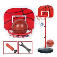 Wholesale outdoor kids toys for sale - Children Basketball Stand CM Kids Outdoor Adjustable Basketball Toy Playset Kids Indoor Outdoor Basketball Toy Party Favor CCA9731