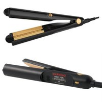 Wholesale digital electric heating online - 2 in Hair Straightener Professional steam styler Curler Flat Iron with Heat Activated Argan Oil Infused sonic Treatment DHL Free