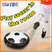 Wholesale levitating toys for sale - Group buy LED Suspension Football Indoor Sport Levitate Football Toys Air Power Soccer Ball For Parent child Interaction Decompression Toy