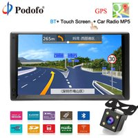 """Wholesale android mp5 player - Podofo GPS Navigation Android 2 Din 7""""HD Car Radio Touch Screen autoradio Multimedia Player Bluetooth FM MP5 Audio Auto Stereo"""