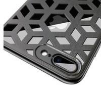 ingrosso telefoni cellulari iphone 6s-Nuova custodia di lusso per iPhone XR XS MAX X 6S 7 8 plus copertura della cassa del telefono cellulare sottile copertura griglia morbida