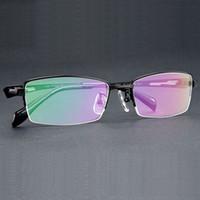 37e0c96b59f Free Shipping 100% Pure Titanium Halfl Rim Brand Eyeglasses Men Optical  Spectacle Frame Eye Prescription Glasses Oculos De Grau