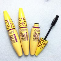 Wholesale Leopard Mascara - Colossal Volum Leopard Mascara 3IN1 Extra Long Lasting Thick Black Volume Mascara 8ml