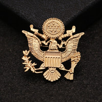 Wholesale medals brooch - Medal Of Freedom Brooches Fashion Men Suits Selling Pin Badge