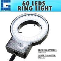 Wholesale level camera for sale - RLT _US LED Microscope Ring Light Scope Illuminator with Zone Quadrant Control Adapter Fitting and Adjustable Brightness Level