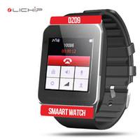 Wholesale LICHIP DZ09 smart watch android smartwatch orologi watches phones reloj inteligente fitness Relógio dz with sim card slot
