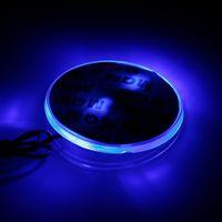 yeni ışık logosu toptan satış-Yeni 4D Araba LED Işık Logo Arka Rozeti Işık Sticker Amblem Kuyruk Lambası Rozeti Dekorasyon BMW kırmızı mavi beyaz renk