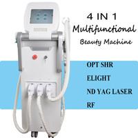 q geschaltet yag laser verkauf großhandel-IPL Shr Haarentfernung Maschine Laser Haarentfernung Maschine zum Verkauf Radiofrequenz Hautstraffung Ausrüstung Laser nd yag Q-Switched Beauty Eq