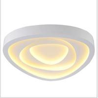 lamba askıları toptan satış-FULOC LED Tavan LED Tavan Işıkları Aydınlatma Armatürü Modern Lamba Oturma Odası Yatak Odası Mutfak Yüzey Montaj