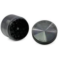 Wholesale space case grinder wholesale for sale - Space Case Grinder Black MM Layers Aluminum Alloy Herbal Tobacco Grinder Space Case Grinders OOA4012