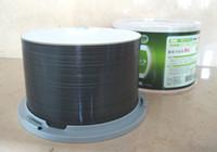 ray diski toptan satış-Ücretsiz kargo BD-R 50 GB mavi ışın Disk BDR 50g Bluray mürekkep püskürtmeli Yazdırılabilir 8X10 adet / grup