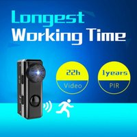 black security camera motion detection night vision - 2018 New PIR Motion Detection HD P Mini Camera W6 Micro Cam M Night Vision Hours Voice Video Recorder Home Security DVR Camcorder