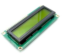 lcd для arduino оптовых-Smart Electronics LCD Module Display Monitor 1602 5V Yellow Green Screen And White Code for arduino UNO 2560 Raspberry PI Board