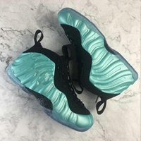 Wholesale polyester foams - 2018 Cheap Best Basketball Shoes Penny Hardaway Mens Sports Sneakers Foam One Eggplant Purple Mens Basket ball Shoes comfort and support
