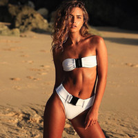 dcf64fef6baf9 x Sexy Tow Pieces Bikinis Women Swimsuit Swimwear 2018 New Dropshipping  Bikini Set Halter Beachwear Bathing Suit Biquini Female