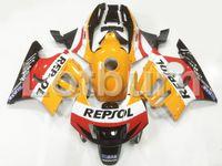 Wholesale Honda Fit Custom - High Quality ABS Plastic Fit For Honda CBR600RR CBR600 CBR 600 F3 1997 1998 97 98 Moto Custom Made Motorcycle Fairing Kit Bodywork A93