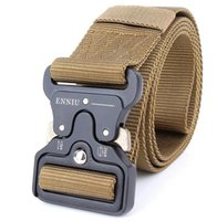 ingrosso soldato-Cintura militare Knock Off Army Belt Heavy Duty US Army Cintura tattica robusta 100% cinturino in nylon 4.5cm