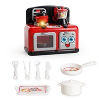 Wholesale iron vacuum - Kitchen Play Food Toy Electric Vacuum Cleaner Electric Iron Liquidizer Emulational Home Appliances Puzzle Small Children Creative 14 6xd V